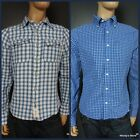 Abercrombie & Fitch MEN'S Plaid-Flannel Shirt New with Tags - A&F muscle 2013