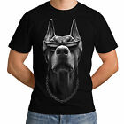 Doberman New Fashion Men Women T-Shirt Funny Dog Trend Glasses Panzer Tartan *h3