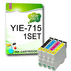 4 NON-OEM Printer Ink Cartridges Replace YIE-T0711-T0714 YIE-T0715