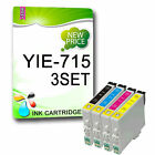 12 Compatible Ink Replace For Printer T0711 T0712 T0713 T0714 T0715 (NON-OEM)