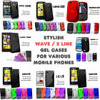 S Line Wave Gel Silicone Case Cover Skin Accessory For Various Mobile Phones