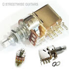 Guitar Pull Push Pot Switch Potentiometer For Coil Tap A250k B250k A500 or B500
