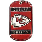 PERSONALIZED ENGRAVED NFL DOG TAG AFC TEAMS GREAT GIFT FOR ANY NFL FOOTBALL FAN