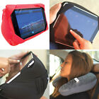 Car Clip Holder Pillow for iPad, Quickly Transforms to Neck Pillow
