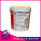 10 x KA TANKING SLURRY - 25kg BUCKETS - WATER & DAMP PROOFING - GREY OR WHITE
