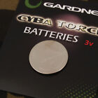 Gardner ATTx V1 Transmitter Battery and Cyba Torch Batteries Carp Coarse Fishing
