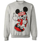 MICKEY HANDS MOUSE SWEATER ODD DIS OBEY FUTURE SWEATSHIRT CHEF DOPE YMCMB DRAKE