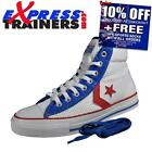 Converse Womens/Junior All Star Player Mid Trainers (Wht) * AUTHENTIC *