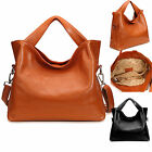 Top-Quality Womens Lady Genuine Leather Handbag Tote Bags Shoulder Purse Satchel