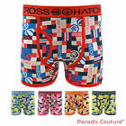 CROSSHATCH MENS CHECK DESIGN SHORTS STRETCH BOXERS UNDERWEARS TRUNKS SIZE S-XXL