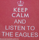 Keep calm listen to - Led Zeppelin - The Who - Quo - Pink Floyd - fridge magnets
