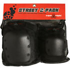 Triple Eight 8 Street 2-Pack Knee & Elbow Pad - Roller Derby Skate Skateboarding image