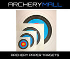 ARCHERY PAPER TARGETS 40CM-122CM  $0.99-$9.99  Made in US