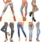 25 Pattern Multicolor Sexy Womens Leggings /Jeans Jeggings Stretchy Skinny Pants