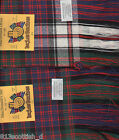 Tartan Sash MacDonald Ladies Scottish Plaid Ships free in US