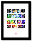 ❤ MUSE - Starlight ❤ song lyric poster typography art print - 4 sizes