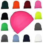 Kyпить Beanie Hat Mens Ladies Womens Slouch Winter Woolly Ski Knitted Turn Up Neon Warm на еВаy.соm