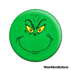 The Grinch Pin Button Badge Fridge Magnet (Dr. Seuss Green Face Christmas)