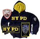 NYPD Shirt Hoodie Sweatshirt NYPD Blue Season Clothing Apparel Merchandise Badge