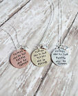 Though She Be But Little She Is Fierce Shakespeare Necklace Jewelry Poem Quote