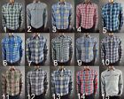 Abercrombie & Fitch  MEN'S Flannel - Plaid - Shirt New with Tags - A&F muscle