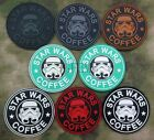 Starbucks Coffee STAR WARS Storm Trooper Tactical Morale 3D PVC Patch $6.49 CAD