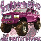 "Southern Girl ""SOUTHERN GIRLS ARE PRETTY IN PINK"" 50/50 Gildan/Jerzees T SHIRT"