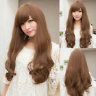 New Fashion Womens Girls Long Curly Wavy Full Wigs Hair Cosplay Costume Party
