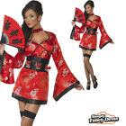 Adult Ladies Sexy Fever Vodka Geisha Girl Fancy Dress Costume Outfit