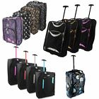 'Hand Luggage Trolley Small Travel Cabin Bag Carry-on Suitcase Holdall