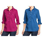 NWT Old Navy Women Utility Shirts Two Pocket Blouse 100% Cotton Top XS/S/M/L/XL