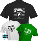 STARFLEET ACADEMY - T Shirt, Star Trek, Trekkie, Geek, Fun, Cool, Quality, NEW on eBay