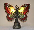Stained Glass Tiffany Style Butterfly Deco Girl Night Light Table Desk Lamp.