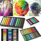 6 / 12 / 24 / 36 Colors Temporary DIY Hair Color Chalk Non-toxic Dye Pastels Salon Kit