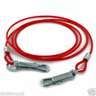 6ft Dog Tie Out Cable Long Pet Lead Leash Strong Wire Puppy Collar Extension
