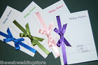 Wedding Invitations - Hand made - Brides choice - Custom - Full suite available