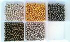 Premium Quality & Nickel Free Smooth Round Ball spacer beads 4mm, 3.2mm, 2.4mm