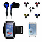 Galaxy S3 Sports Bundle Armband + Headset + Screen Guard for Gym Jogging Workout