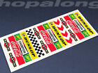Scalextric/Slot Car 1/32 Trackside Building/Barrier Decals - Choose from 6 Sets