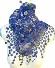 Glitter Lace Triangular Scarf - Fashionable Light and Gorgeous !!