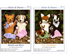 knits & pieces Sandra Polley Glove Puppets & Babies Animals knitting patterns