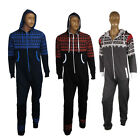 Mens Womens Ladies Aztec Print Hooded Onesie Jumpsuit Playsuit All In One S-3XL