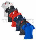 Spiro Mens Sports Golf Performance Polo Shirt Breathable Wicking Dry Top S177M