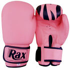 Ladies pink Boxing Bag mitts hook jab women fight training sparring gloves