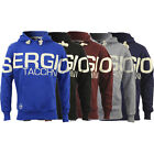 New Mens Sergio Tacchini Hoodie Hoody Hooded Sweatshirt Jumper Sweater Pullover
