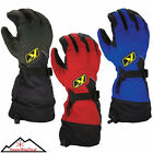 Klim Fusion Gloves Snowmobiling Insulated Thinsulate Gore-tex Snowmobile Glove