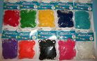 Stretch Band Bracelet Loops Loom Bands 312pc Set~S-Clips Included!~Pick a Color~