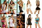 New WHOLESALE LOT Baby Doll Camisole Teddy GoGo LINGERIE Thong G-STRING S M L XL