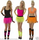 NEON TUTU SET  80's  FANCY DRESS GIRLS