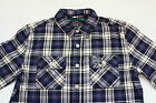 Authentic Brand New W/O Tag Superdry Mens Lumberjack Twill Slim Fit Shirt - L,XL